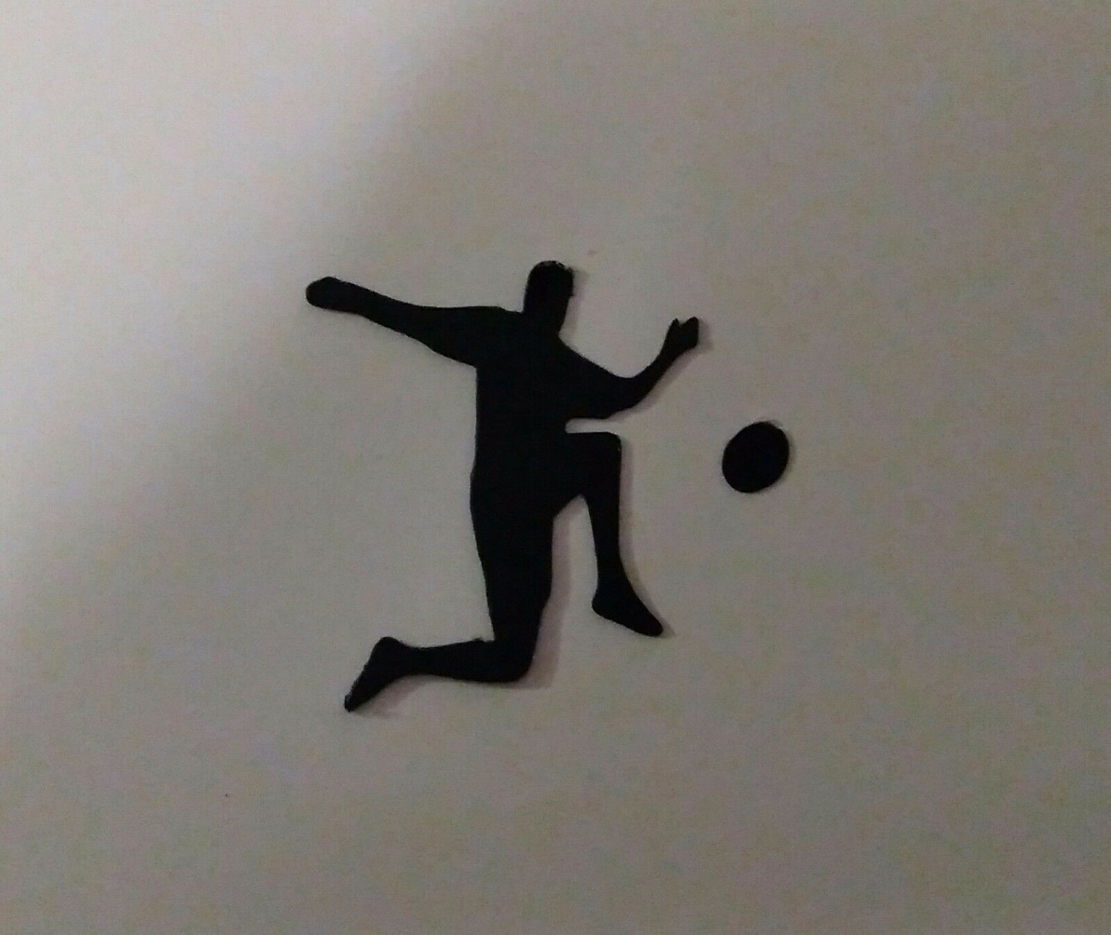 Die cuts Footballer