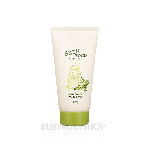 SKINFOOD Green Tea Salt Mask Foam - 170ml