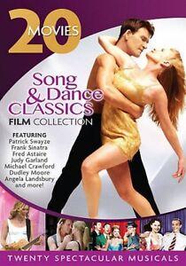 4 DVD set 20 movies BREAKFAST in HOLLYWOOD,CAREER GIRL,