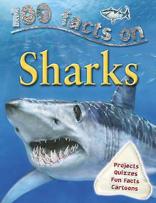 100 Facts Sharks by Steve Parker (Paperback, 2007)
