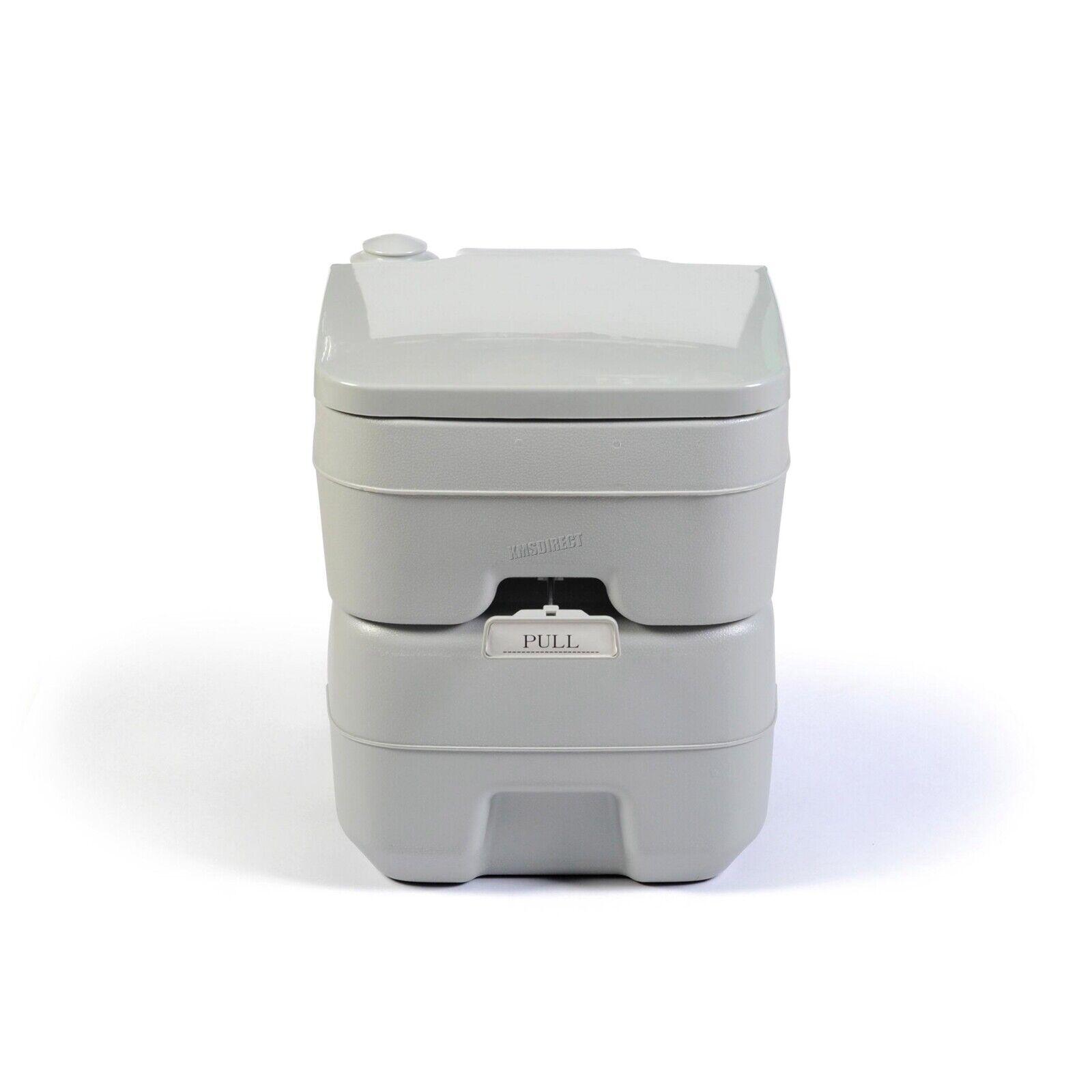 FoxHunter 20L Portable Toilet Flush Caravan Camping Travel WC Loo Porta Potty 2