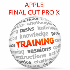 Details about Apple FINAL CUT PRO X 10 3 and 10 4 - Video Training Tutorial  DVD
