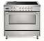 Verona-Designer-VDFSEE365SS-36-034-Electric-Range-Oven-Convection-Stainless-Steel thumbnail 1