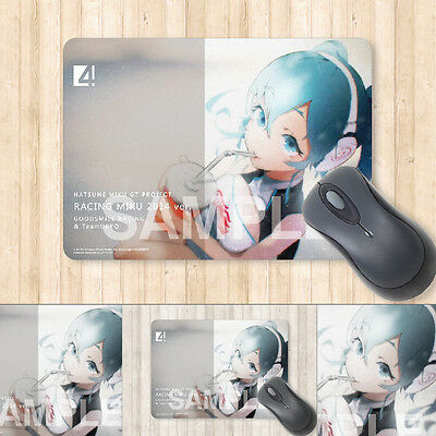 Miku Hatsune 2014 Racing version Anime Mouse Pad Part 5 Official Japan +
