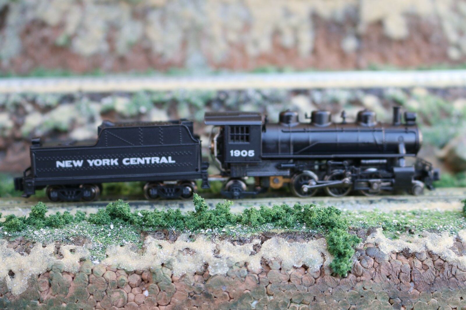 N scale Bachmann Prairie 2-6-2 Steam Locomotive Tender New York Central VD
