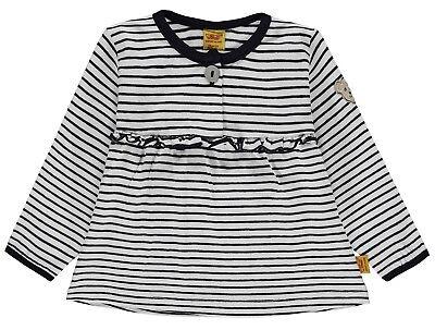 STEIFF® Mädchen Langarmshirt Shirt Bär Weiß Gr 68-86 2019 NEU!