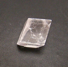 """OPTICAL CALCITE CRYSTAL CUBE FROM DURANGO, MEXICO APRX. 1 """" """"SUNSTONE"""""""