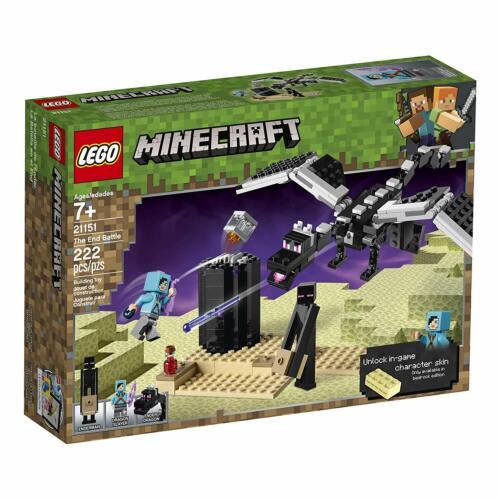 NEW LEGO Minecraft 21151 Ender Dragon End Battle