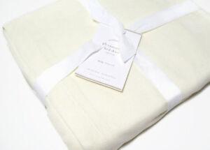 Flounced Linen Bed Skirt Potterybarn 15 Drop Queen 109