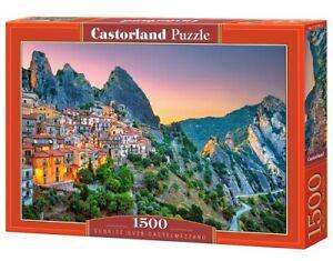 Castorland C-151912-2 - Sunrise over Castelmezzano, Puzzle 1500 Teile - Neu