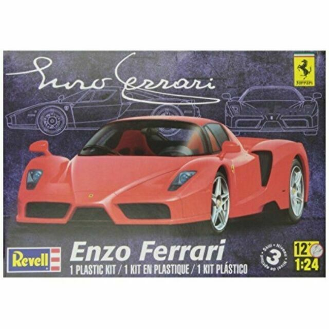 1 24th Revell Enzo Ferrari Model Car Kit As Is For Sale Online Ebay
