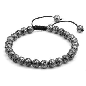 Handmade-Natural-Gemstone-Bead-Healing-Power-Adjustable-Tassels-Bracelet-YHSL2