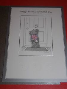 Me-to-You-034-HAPPY-BIRTHDAY-GRANDMOTHER-034-BIRTHDAY-CARD