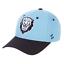 COLUMBIA-UNIVERSITY-LIONS-NCAA-COMPETITOR-STRAPBACK-ZEPHYR-LT-BLUE-CAP-HAT-NEW thumbnail 1