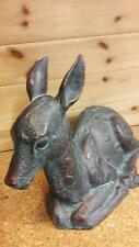 Garden Ornaments - Fawn Bronze Sculpture