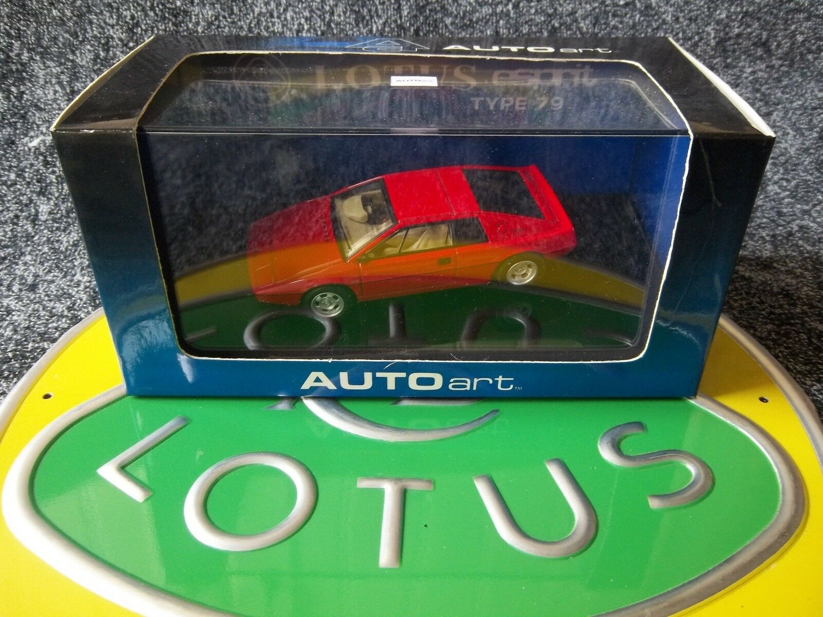 Autoart Lotus Esprit Type 79 Red 1 43 Mint Boxed 55313 Hethel F1 Andretti