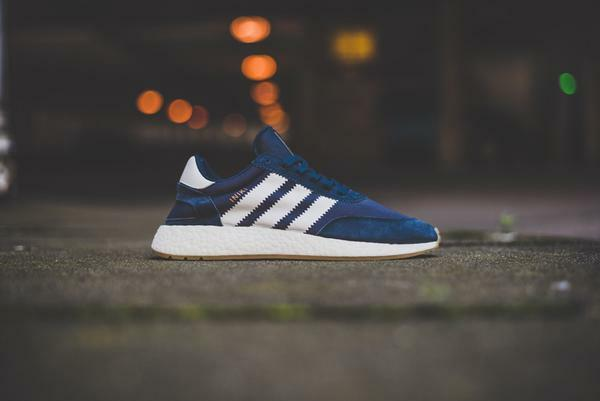 Adidas INIKI Runner size 13. Navy White Gum. BY9729. nmd ultra boost pk