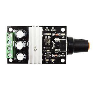 Dc 6v 12v 24v 3a 80w Pwm Motor Speed Controller Variable