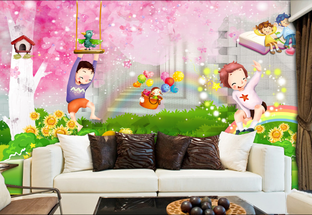 3D Cartoon 466 Wallpaper Murals Wall Print Wallpaper Mural AJ WALL AU Lemon