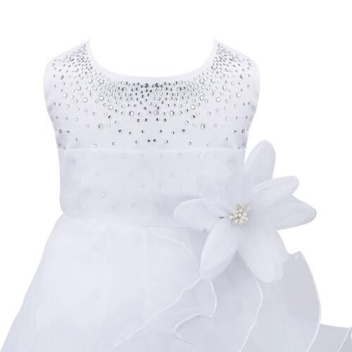 Toddler Flower Girl Dress Bridesmaid Wedding Party Birthday Princess Tutu Dress