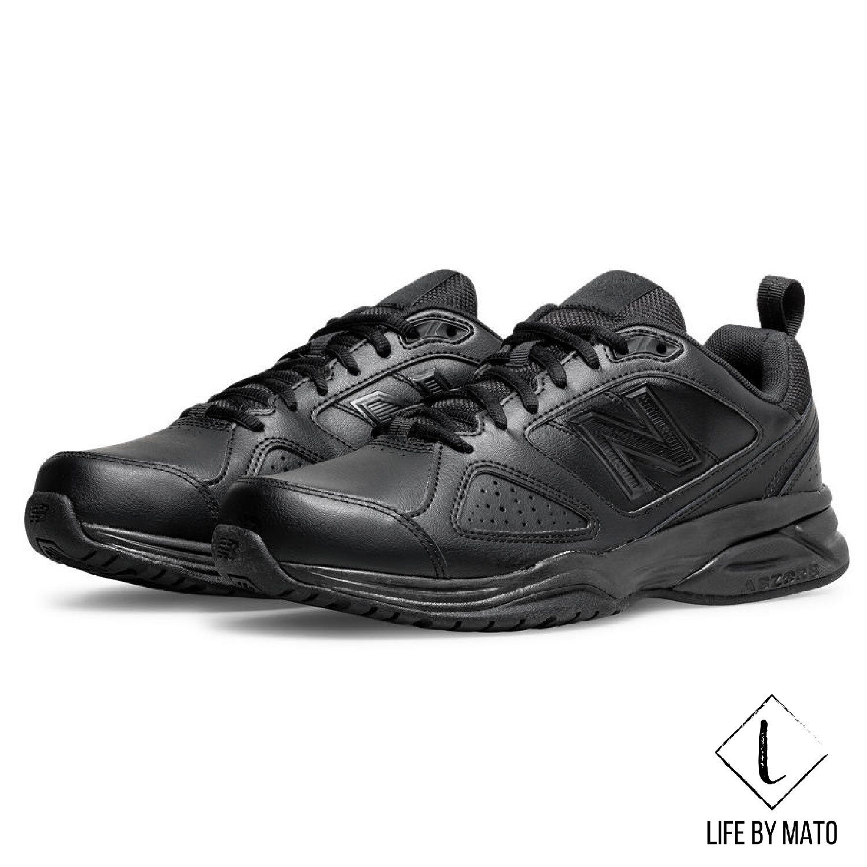 New Genuine New Balance|624|624V4|MX624|Mens shoes|Crosstrainer|Black Or White