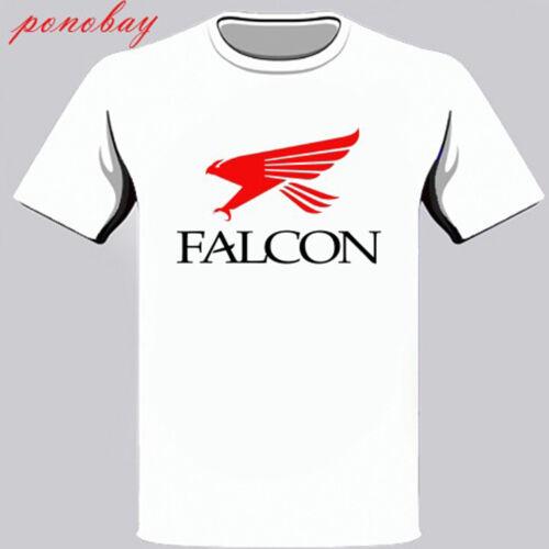 New Falcon Fishing Rod Logo Fishing TV Show Men/'s White T-Shirt Size S-3XL