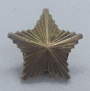 JNA-Yugoslav-People-039-s-Army-metal-gold-star-rank-insignia-badge-AURO-METAL-SUBOT