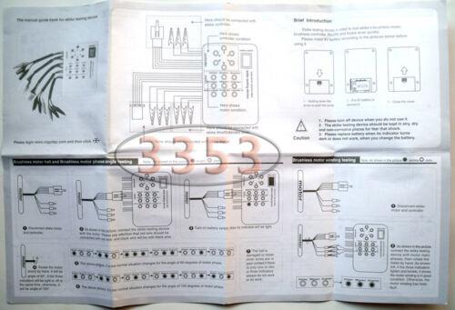 24V//36V//48V//60V Electro Car E-bike Scooter Brushless Motor Controller Tester New