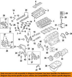 mitsubishi oem 04 06 lancer engine oil pan 1200a020 ebay