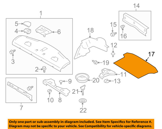 Genuine 04-07 Scion xA Black cargo mat OEM NEW YUMMY Toyota