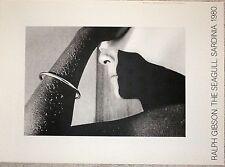 Ralph Gibson affiche The Seagull Sardinia 1980 New York femme nue