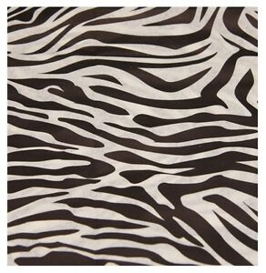 * 5 SHEETS Zebra Animal Print ~ Acid Free Tissue Wrapping Paper Sheets 35x45cm