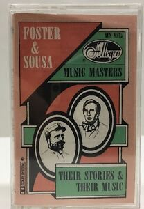 Foster-amp-Sousa-Allegro-Music-Masters-Their-Story-amp-Music-Cassette-Tape-ACS-8515