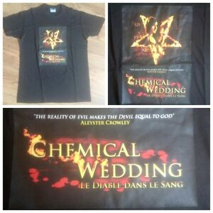 T-shirt-Chemical-Wedding-Bruce-Dickinson-Iron-Maiden-Taille-M