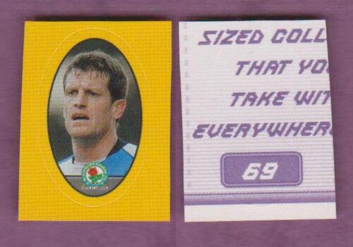Merlin Bolsillo 2004-05 Pegatinas de fútbol Manchester United Singles Varios