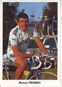 CYCLISME-carte-cycliste-ROMAN-PENSEC-equipe-GAN-1996