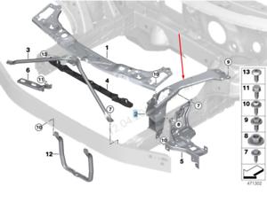 BMW-2-F45-Kuehler-links-Halter-51647307875-7307875-2015-NEU-Original