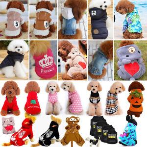 Mascota-Perro-Ropa-Mono-Chaqueta-Abrigo-Invierno-Sueter-Pequeno-Gato-Cachorro