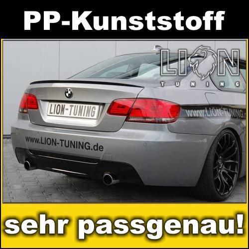 Heckstoßstange Stoßstange hinten M-Paket BMW E92 Coupe, E93 Cabrio mit PDC