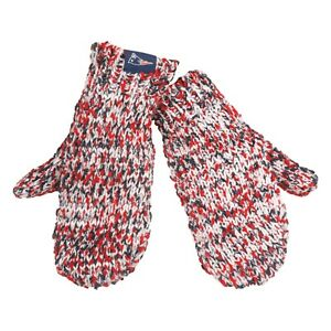 Image is loading New-England-Patriots-Mittens-Chunky-Knit-Gloves-Winter- 375065e37