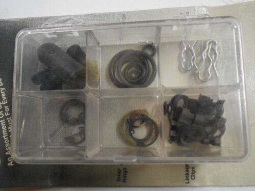 Emergency O-Ring Throttle Linkage Snap Ring /& Vacuum Cap Assortment Kit