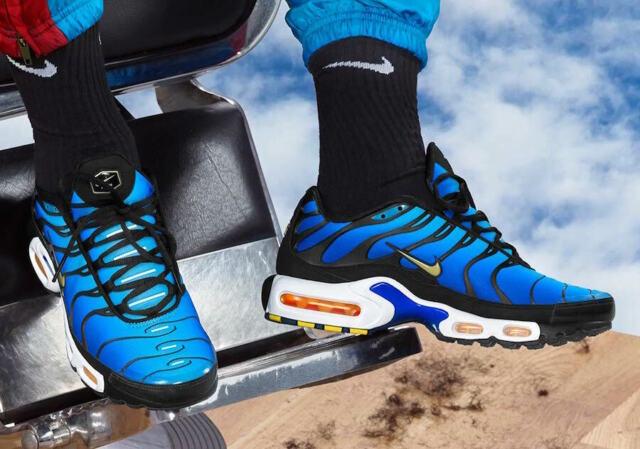 Nike Air Max Plus OG Baskets pour Homme Hyper Blue, Pointure 43