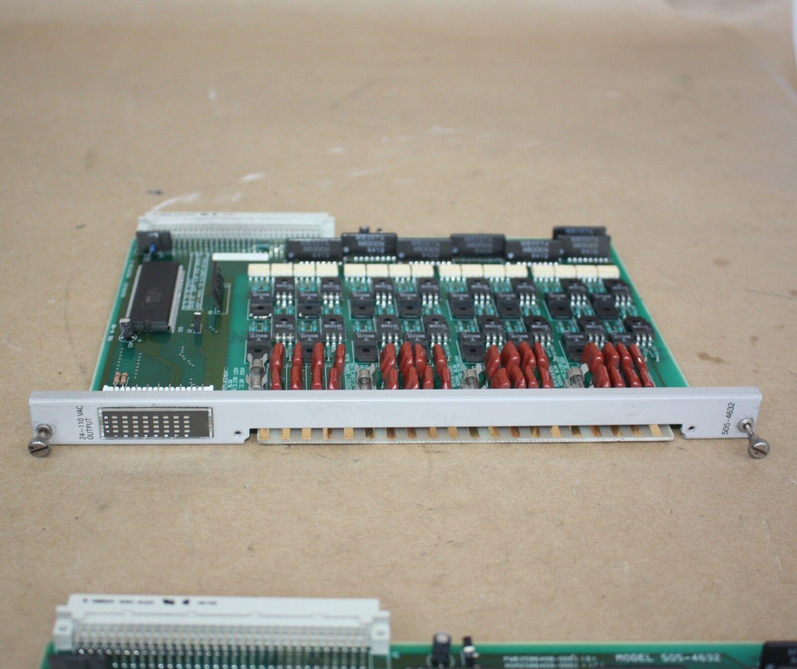 SIEMENS SIMATIC 505-4632 24110VAC OUTPUT MODULE PLC - TEXAS INSTRUMENTS TI 505