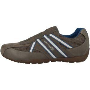 Details zu GEOX U Ravex C Schuhe Sneaker Freizeit Halbschuhe Slipper dove U923FC0AU14C1018