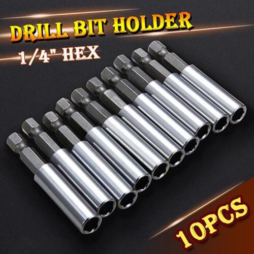 "10*1//4/"" Hex Shank Magnetic Drill Bit Holder Driver Screwdriver Extension Socket"