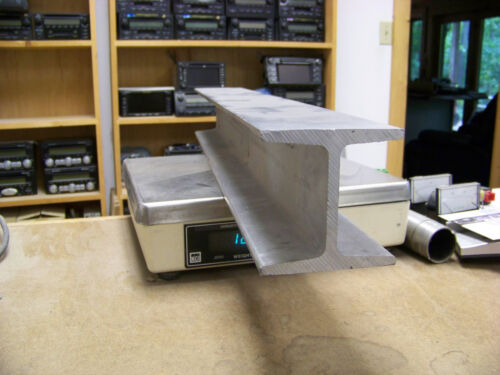 "4/"" Aluminum Beam 6061 T6 4/"" x 4/"" x .325/""  web American Standard x 32/"" long"