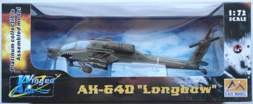Easy Model AH-64D Longbow Helicopter Hubschrauber 99-5118 C Company 1:72 Neu//OVP