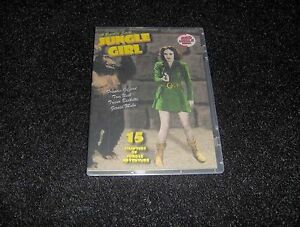 JUNGLE GIRL CLIFFHANGER SERIAL 15 CHAPTERS 2 DVDS