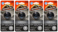 4 Packs ArmorAll Vent Clip Car Air Freshener NEW CAR Scent 0.08 Fl. Oz Each NEW