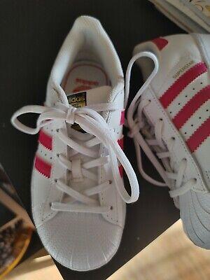 girls superstar Adidas size 12 tennis